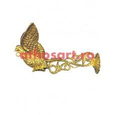 Agatatoare aluminiu aurit (38 cm) cod 89-598